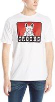 Crooks & Castles Men's Knit Crew T-Shirt - French Davis