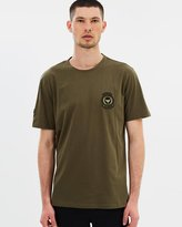 The Kooples Round Collar With Crest T-Shirt