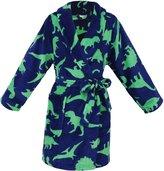 Simplicity Boy's Lightweight Plush Bathrobe Robe with Long Sleeve, Pockets