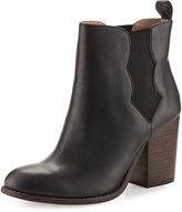 Splendid Magnolia Leather Chelsea Boot, Black