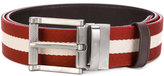 Bally striped belt