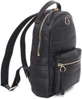 Moncler Black Padded Small Backpack From
