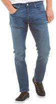 Duck and Cover Mens Boxren Jeans Blue