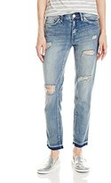 Dittos Women's Bethany Fray Crop Jean