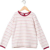 Petit Bateau Girls' Striped Long Sleeve Top