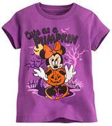 Disney Minnie Mouse Halloween Tee for Girls