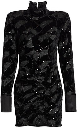 Rotate by Birger Christensen Miki Sequin Mini Dress