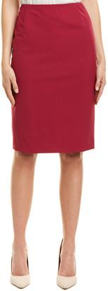 Lafayette 148 New York Wool-Blend Pencil Skirt