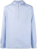 Cmmn Swdn Will hooded shirt - men - Cotton - 46
