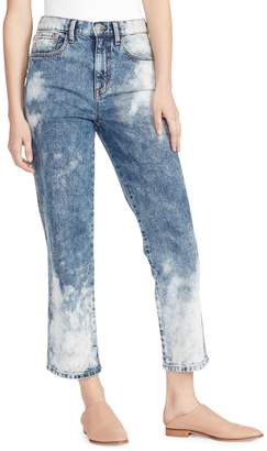 Ella Moss High-Waist Straight Jeans