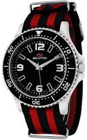Seapro SP5311NR Men's Tideway Black & Red Nylon Watch