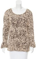 Gucci Chunky-Knit Scoop Neck Sweater