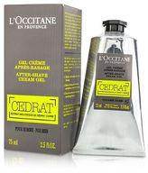L'Occitane NEW Cedrat After Shave Cream Gel 75ml Perfume