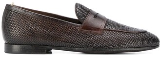Officine Creative Woven Loafers
