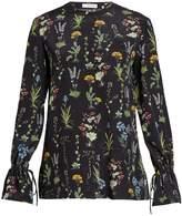 Altuzarra Christina floral-print long-sleeved silk blouse