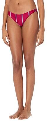 O'Neill Palmas Stripe Revo Classic Swim Pants (Sangria) Women's Swimwear