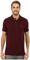 U.S. Polo Assn. Solid Cotton Pique Polo