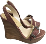 Christian Dior Python Sandals