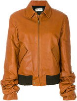 Saint Laurent oversized bomber jacket