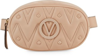 Mario Valentino Valentino By Madeline Chevron Quilted Leather Waist Bag