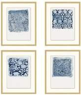 Pottery Barn Textile Stamp Framed Prints