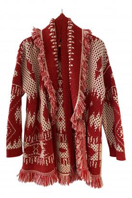 Alanui Red Cashmere Knitwear