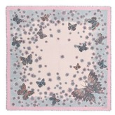 Valentino Butterfly print cashmere-silk scarf