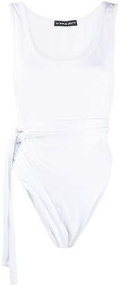 Y/Project Tie-Waist Sleeveless Bodysuit