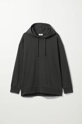 Weekday Aria Oversized Hoodie - Black