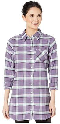 Mountain Khakis Penny Plaid Tunic Shirt (Nightshade) Women's Blouse