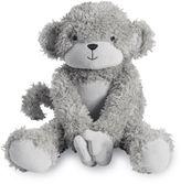 Lambs & Ivy Animal Crackers Koko Monkey Plush Toy in Grey/White