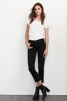 Kate High Rise Crop Jean In Onyx