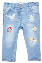 Margherita Infant Girl's Patch Jeans