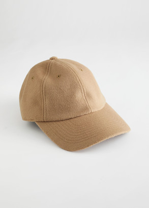 And other stories Wool Blend Baseball Cap