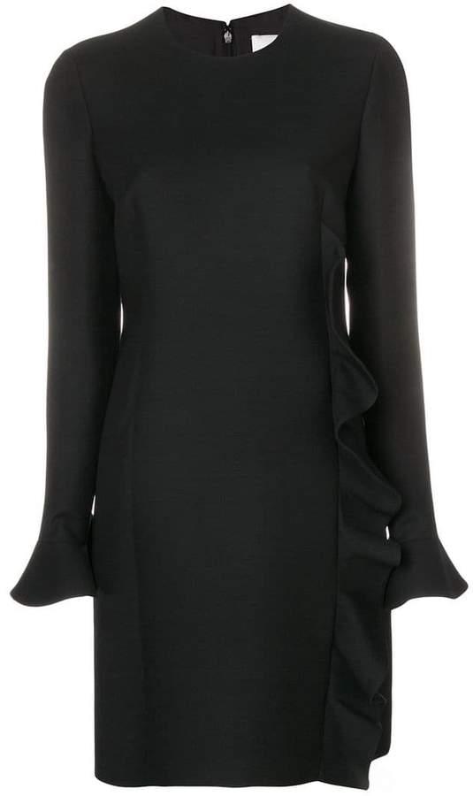 Valentino ruffle trimmed dress