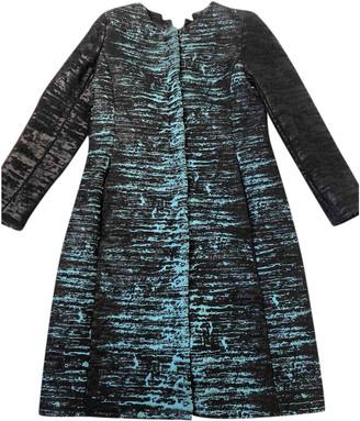 Oscar de la Renta Multicolour Wool Coats