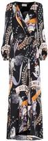 Temperley London Clementina hammered-satin dress