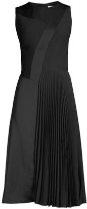 BOSS Dionia Sleeveless Plisse Dress