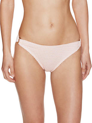 Shoshanna Adelaide Pink Crochet Ring Bikini Bottoms