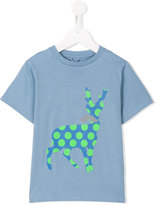 Stella McCartney deer logo print Chuckle T-shirt - kids - Cotton - 2 yrs