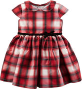 Carter's Short Sleeve Babydoll Dress - Baby Girls