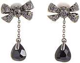 Pomellato 18K 0.64 Ct. Tw. Diamond & Onyx Drop Earrings