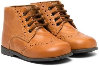 Pépé Mocambo brogue boots