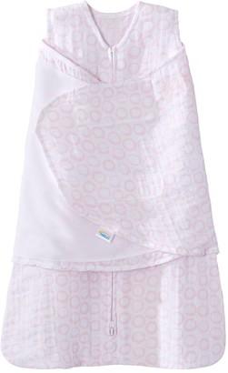 Halo Baby Muslin Pink Circles SleepSack Swaddle