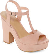 A.N.A a.n.a Valerie T-Strap Platform Sandals