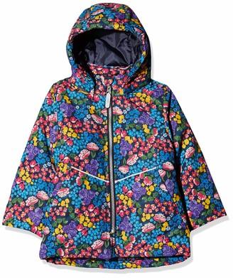 Name It Baby Girls' Nmfmaxi Jacket Flower Field