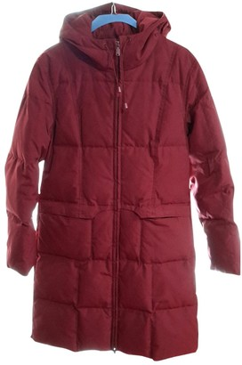 Gas Jeans Red Polyester Coats