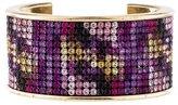 Chanel Multicolor Crystal Cuff