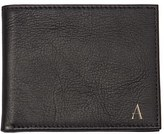 Cathy's Concepts Monogram Bifold Wallet - Black