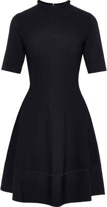 Lela Rose Flared Ponte Mini Dress